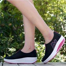 Berapa Harga Sports Casual Kain Bersih Shake Sepatu Sepatu Wanita Bottom Side Tumit Sepatu Wanita Bernapas Kaki Intl Oem Di Tiongkok