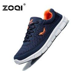 Jual Olahraga Sepatu Musim Semi Dan Musim Panas Bersih Sepatu Zoqi Bernapas Pria Sepatu Kasual Siswa Sepatu Lari Travel Sepatu Biru Intl Branded Murah