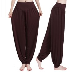 Olahraga Yoga Celana Wanita Plus Size Colorful Celana Pof Tari Taichi Celana Panjang Penuh Halus Tanpa Antistatik Jual Hot Fitness Bernapas-Intl