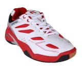 Beli Spotec Back Court Sepatu Badminton Putih Merah Online Terpercaya