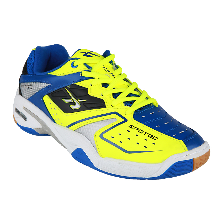 Spotec Double Hit Sepatu Badminton Pria Wanita bc2e5461e0