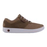 Spesifikasi Spotec Inverto Sepatu Sneaker Krem Coklat Tua Spotec Terbaru