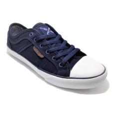 Review Spotec Neo Sepatu Sneaker Biru Tua Spotec