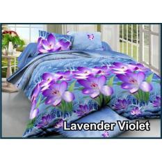 Sprei Fata Signature 100x200 Lavender Violet By Wanshion