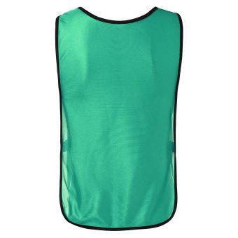 Harga preferensial Musim Semi Olahraga Sepak Bola Sepak Bola Basket  Pelatihan Oto Kaus Rompi Anak-anak Hijau 2db01c315a