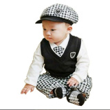Beli Spunky Kids Setelan Tuxedo 5In1 Boysets Hitam Putih Spunky Kids Asli