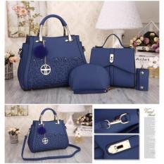 Katalog Sq2397 Handbag Wanita Tas Import Tas Batam Murah Wanita Grosir Tas Set4In1 A Multi Terbaru