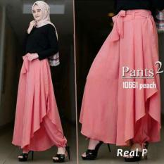 Sr Collection Celana Panjang Wanita Agoesty Aladin Peach Murah