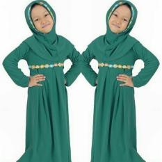 SR Collection Hijab Anak Falina Kombinasi Renda - Tosca