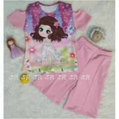 Jual Sr Collection Pakaian Anak Perempuan Set 2 In 1 Blouse Kulot 0015 Size 1 2 3 Branded