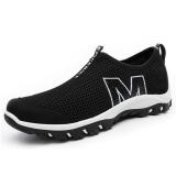 Beli Srz Gaya Baru Pecinta Sepatu Santai Bernapas Mesh Sepatu Fashion Berlubang Sepatu Hitam Intl Baru