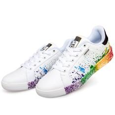 Beli Srz Gaya Baru Pasangan Fashion Bernapas Kasual Sepatu Putih Hitam Intl Srz Online