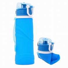 Bintang Mall Creative Lembut Silikon Air Botol Lipat Sport Ketel untuk Luar Ruangan Bersepeda Daki Gunung Backpacking-Internasional