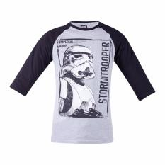 Review Toko Star Wars Rogue One Raglan T Shirt Stormtrooper Grey