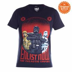 Spesifikasi Star Wars Rogue One The Galactic Empire T Shirt Hitam Baru
