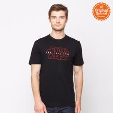 Harga Star Wars The Last Jedi Logo T Shirt Black Termurah