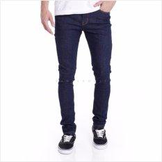 Jual Stardust Celana Jeans Pria Slim Fit Dark Blue Grosir