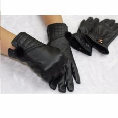 Toko Starjakarta Sarung Tangan Kulit Fashion Wanita Gloves For Woman Best Quality Synthetic Leather 003 Lengkap