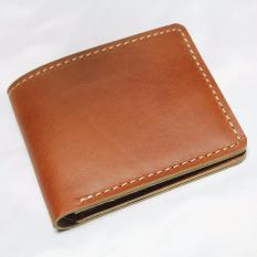 Review Starstore Dompet Polos Pria Kulit Sapi Asli Warna Tan Bifold Wallet Tan Colour Universal Di Jawa Barat