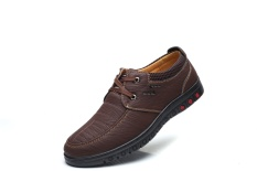 Mantap Pria Dewasa Usaha Sepatu, Brown-Intl
