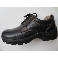 Situs Review Sepatu Safety Genuine Leather Steel Horse Safety Shoes 9138 Derby Lace Up