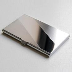 Steel Silver Aluminium Bisnis Kasus Identitas Pemegang Kartu Kredit Cover Bevel Intl Diskon Akhir Tahun