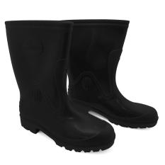Jual Steffi Sepatu Boots Karet Hitam Tinggi 29 5Cm Steffi Online