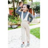Beli Stelan Anak Jumsuit Stripe G*rl Grey Khaki Nyicil