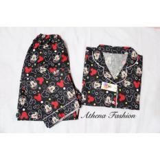 Cuci Gudang Stelan Baju Tidur Wanita Piyama Mickey