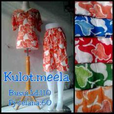 Stelan Daster Celana Kulot Batik Baju Tidur Wanita Dewasa Bali Solo
