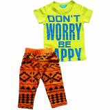 Promo Toko Stelan Hijau Dont Worry Be Happy Celana Orange