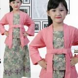 Harga Stelan Kebaya Anak Perempuan Usia 7 12Th Warna Pink Mewah Twin Baru