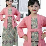 Jual Stelan Kebaya Anak Perempuan Usia 7Th 12Th Warna Pink Mewah Indonesia Murah
