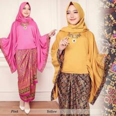 Stelan baju batik/kebaya modern calong katun terbaru higt quality GN