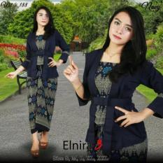 Stelan kebaya kutu baru & rok lilit. Elnira 3. keluaran terbaru