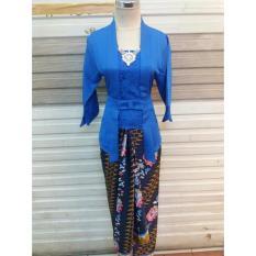 Stelan baju batik wanita- kebaya modern - kutu baru & rok lilit. keluaran -baju batik wanita