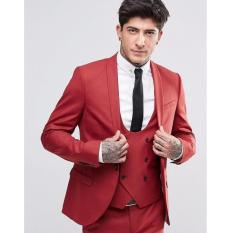 Review Tentang Stelan Pria Jas Formal Red Sunshine Jas Celana Jas New Arrival Jas Formal