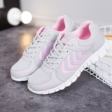 Jual Cepat Strip Wanita Menjalankan Sepatu Unisex Sport Lady Baru Athletic Sneakers Outdoor Bernapas Pelatih Ukuran Pink Intl