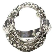 Sudanayasa Silver - Ring - Emban Motif Ganesha2 Silver