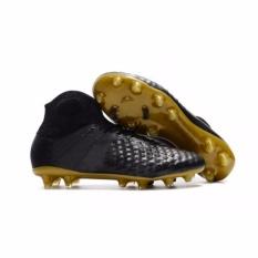 SuFei Football Sepatu Mens FG Sepatu Sepak Bola Magista Obra II FG BlackGold-Intl