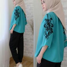 Suki Baju Atasan Wanita Zia / Baju Wanita / Tumblr Tee / Baju Sabrina / Blouse Sabrina / Atasan Wanita / Kemeja Formal / Atasan Muslim / Kemeja Wanita / Baju Atasan Wanita / T-shirt