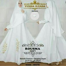 Suki Baju Gamis Muslim Usma / Dress Muslimah / Hijab Muslim / Gamis Syari'I / Baju Gamis / Fashion Muslim / Setelan Muslim / Hijab Wanita / Baju Muslim / Maxi Gamis / Fashion Muslim
