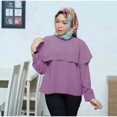 Suki Blouse 2 Leyer Merr - Purple