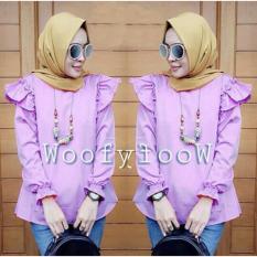 Beli Suki Blouse Wanita Woof Lavender Dki Jakarta