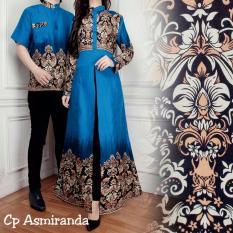 Suki Couple Batik Cewe Cowo Asmiranda - Blue