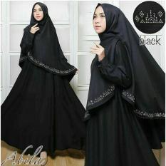 Suki Baju Gamis Muslim Ila / Dress Muslimah / Hijab Muslim / Gamis Syari'I / Baju Gamis / Fashion Muslim / Setelan Muslim / Hijab Wanita / Baju Muslim / Maxi Gamis / Fashion Muslim