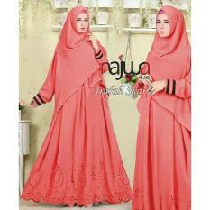 Suki Dress Gamis Najwa Syari'I - Salem