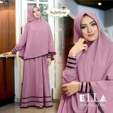 Suki Dress Hijab Syfarose - Ungu