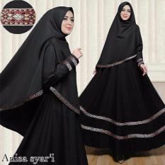 Suki Dress Maxi Gamis Syari'I Anisa Black