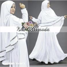 Ulasan Lengkap Tentang Suki Dress Maxi Gamis Syari I Naji White